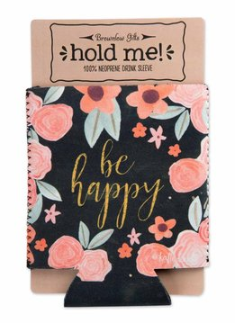 Be Happy Insulated Drink Sleeve