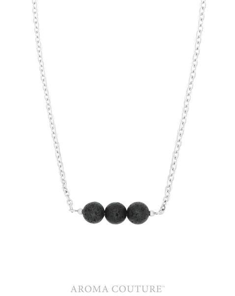 "Simply Lava Diffuser Necklace 18"""