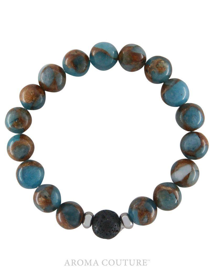 Jasper Lava Diffuser Bracelet Medium/Large