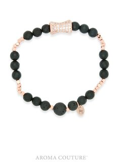 Rose Gold and Matte Onyx/Lava Medium/Large