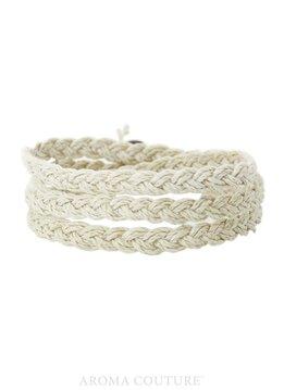 Chelsea Organic Hemp/ Diffuser Wrap Bracelet