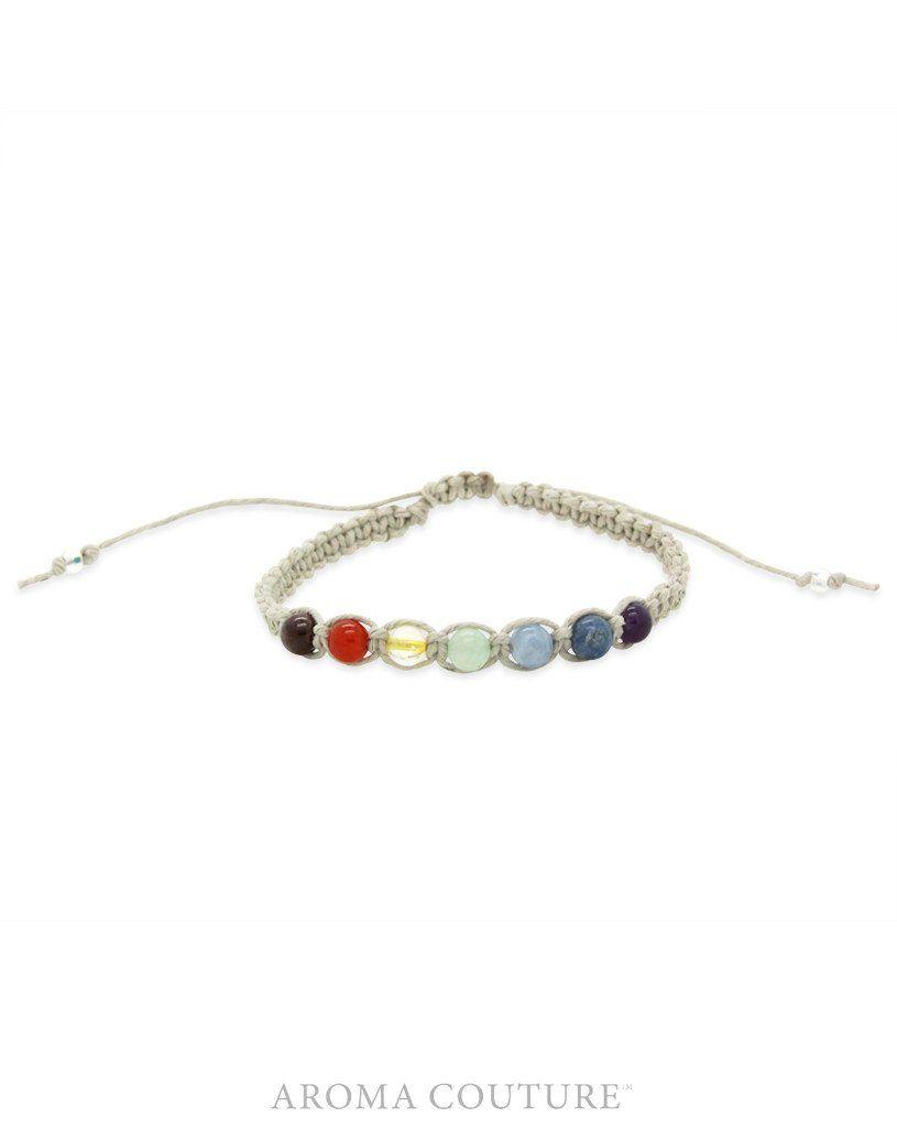 Chakra Organic Hemp Diffuser Bracelet