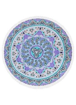 Purple and Teal Mandala Towel.