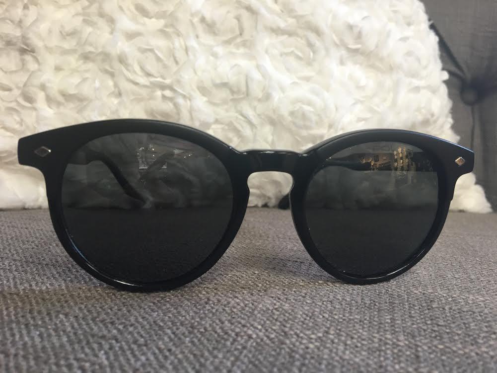 Black Polarized Sunglasses.