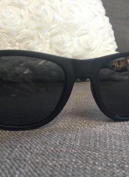 Black Framed Polarized Sunglasses.