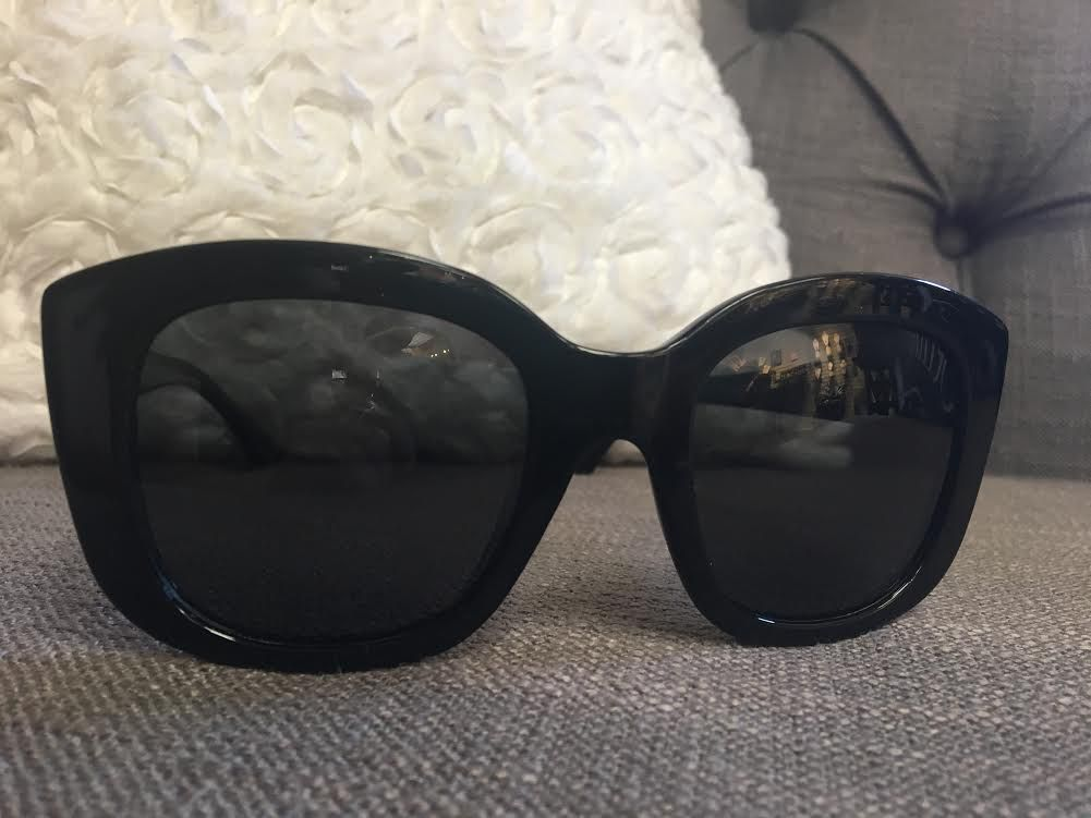 Black Framed Polarized Sunglasses
