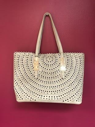 Cute Off White Bag