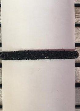All Handmade Black Stone Choker