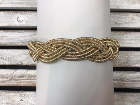Gold Braided Choker