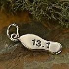Half Marathon 13.1 Sterling Silver Charm