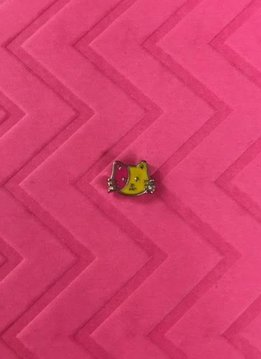 Hello Kitty Red and Yellow Floating Charm