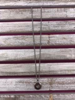 18mm Simple Snap Necklace Pendant