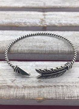 Vintage Silver Arrow Cuff Bracelet