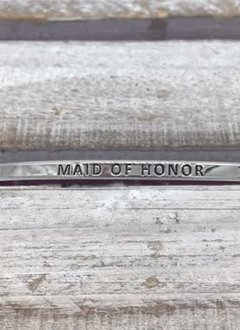Maid Of Honor Silver Bracelet