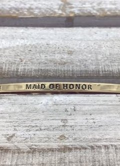 Maid Of Honor Gold Bracelet