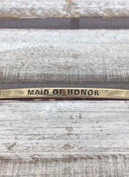 Maid Of Honor Gold Bracelet