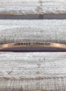 Bride Tribe Rose Gold Bracelet