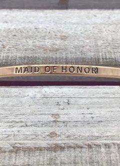 Maid Of Honor Rose Gold Bracelet
