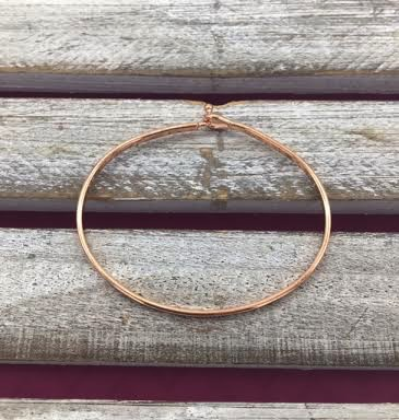 Forever Friends Rose Gold Bangle