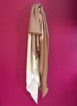 Beige Blanket Scarf
