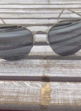 Fashion Aviator Sunglasses Silver