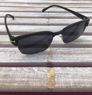 Polarized Square Lenses Sunglasses Black
