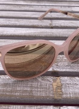 Rose Gold and Pink Sunglasses