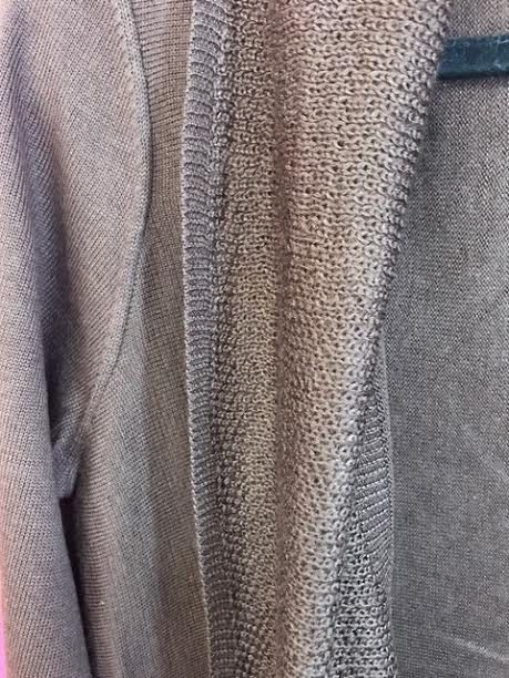 Brown Soft Knit Cardigan