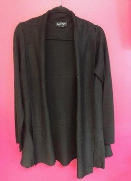 Black Soft Knit Cardigan