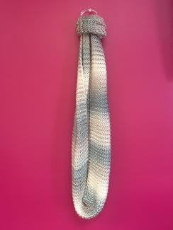 Muted Colors Ombre Knit Scarf