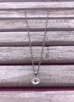 Silver Snap Minis Necklace