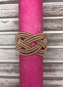 Magnetic Braided Rose Gold Bracelet
