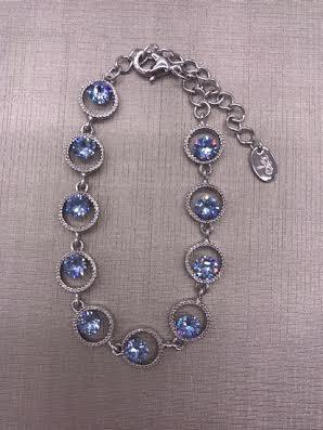Forever Crystals Violet Celebration Bracelet