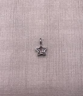 Forever Crystal Silver Clear Crystal Star Charm