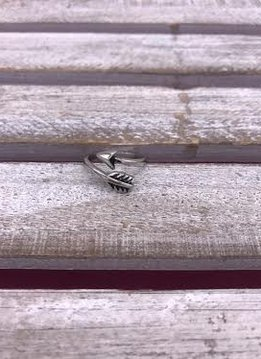 Stainless Steel Arrow Ring