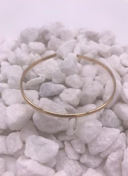 Gold Filled Smooth Bangle