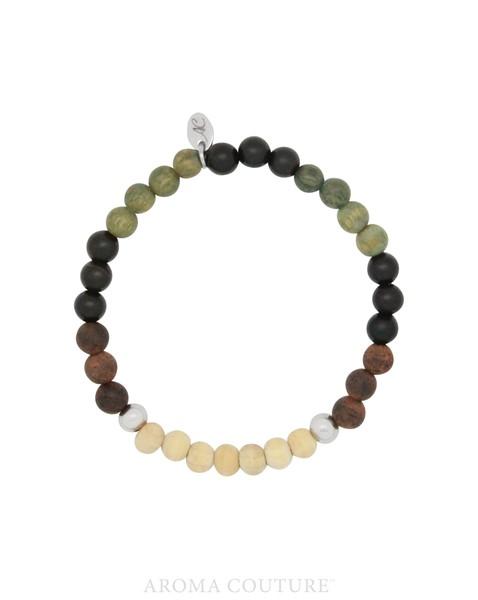 Army Sandalwood Lava Rock Diffuser Bracelet