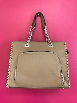 Stone 2 in 1 Handbag Set with Chain Handle