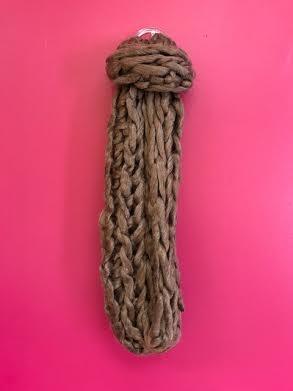 Copper Ultra Soft Chunky Knit Infinity Scarf