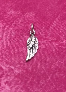 Sterling Silver Wing Charm