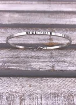Bride Tribe Silver Bangle
