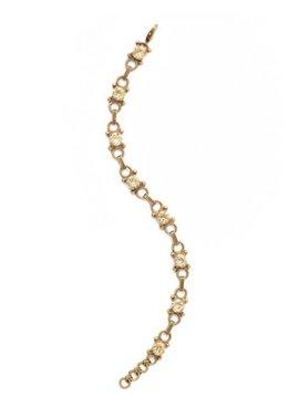 Sorrelli Gold Bracelet with Crystal Champagne
