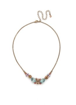 Sorrelli Gold Necklace Rustic Bloom