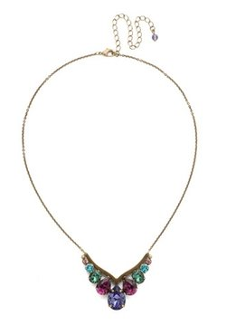 Sorrelli Gold Necklace Jewel Tone