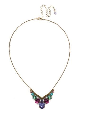 Sorrelli Gold Necklace Jewel Tone