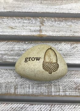 Small Inspirational Grow Token with Acorn
