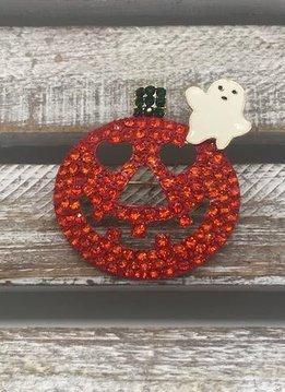 Friendly Jack-O-Lantern and Ghost Broach