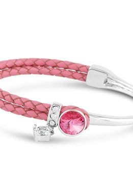 Forever Crystals Rose Bangle