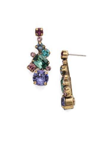 Sorrelli Gold Jewel Tone Earrings