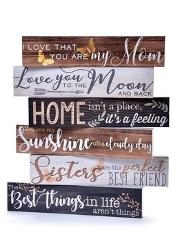 "Long Desk Block ""I Love That You Are My Mom"""
